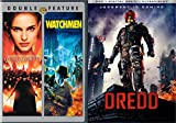 Comics to the Big Screen: Dredd, V for Vendetta, & Watchmen 3-DVD Bundle