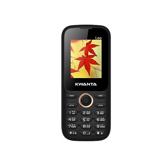 Kwanta Leo 1 8 inch Dual Sim Feature Phone - Black: Amazon