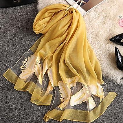 La primavera y el verano de sol toalla de playa de mantones bordados Bufanda Bufanda Bufanda