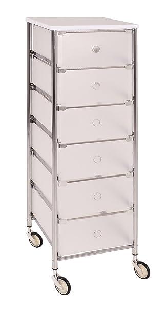 Küche maße  Rollwagen mit 6 Schubladen fürs Bad und Küche; Maße: 33x36x102 cm ...