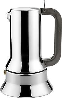 Alessi 9090/3 - Cafetera italiana de acero inoxidable brillo 18/10 con base magnética: Richard Sapper: Amazon.es: Hogar