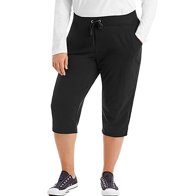 e0ce769df1a3 Just My Size French Terry Women's Capris at Amazon Women's Clothing store: