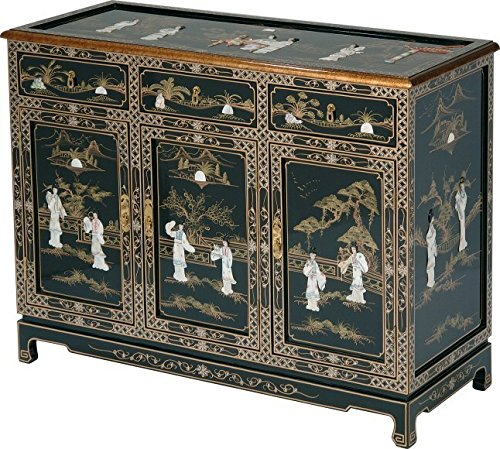 Painted Asian Cabinet - 46
