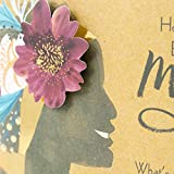 Hallmark Mahogany Religious Birthday Greeting Card For Mom Woman With Flower