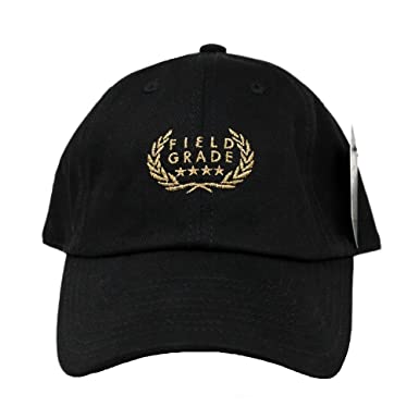 Image Unavailable. Image not available for. Color  FIELD GRADE Champs Black  Gold Dad Hat c3a22ed3acc
