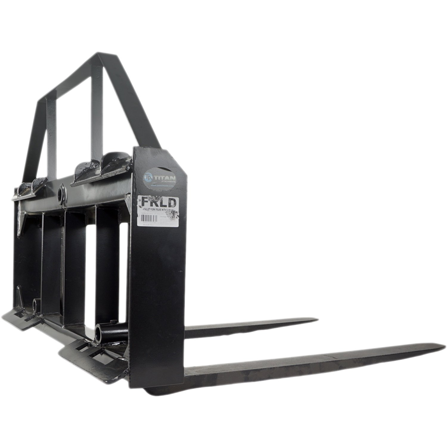 Titan 42'' Pallet Fork Attachment Tractor Kubota Holland Skid Steer Quick tach by Titan Attachments (Image #6)