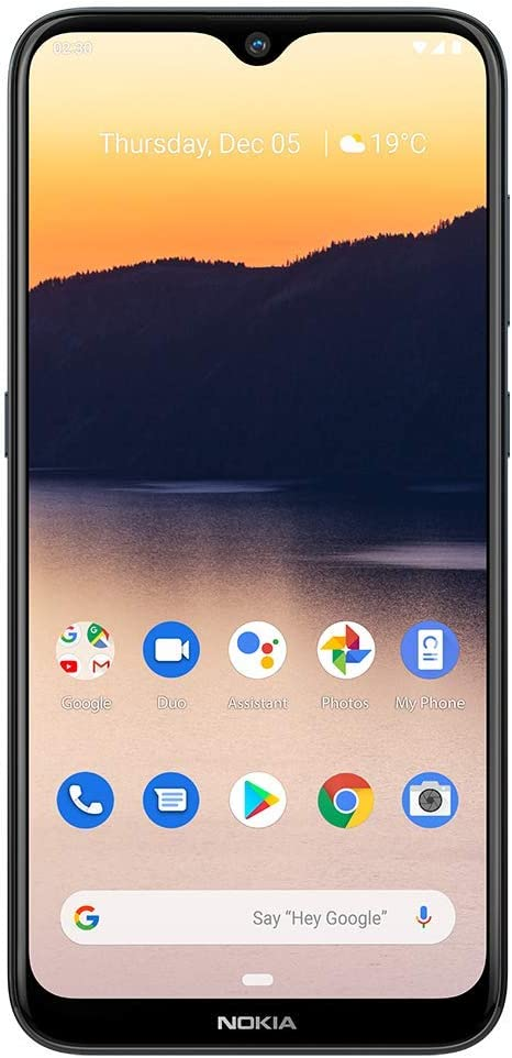 Nokia 2.3 Fully Unlocked Smartphone with AI-Powered Dual Camera and Android 10 Ready, Charcoal (AT&T/T-Mobile/Cricket/Tracfone/Simple Mobile)