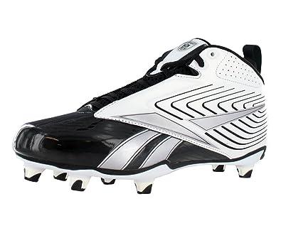 Reebok NFL U Form 4 Speed Mid Detachable Football Cleat Mens