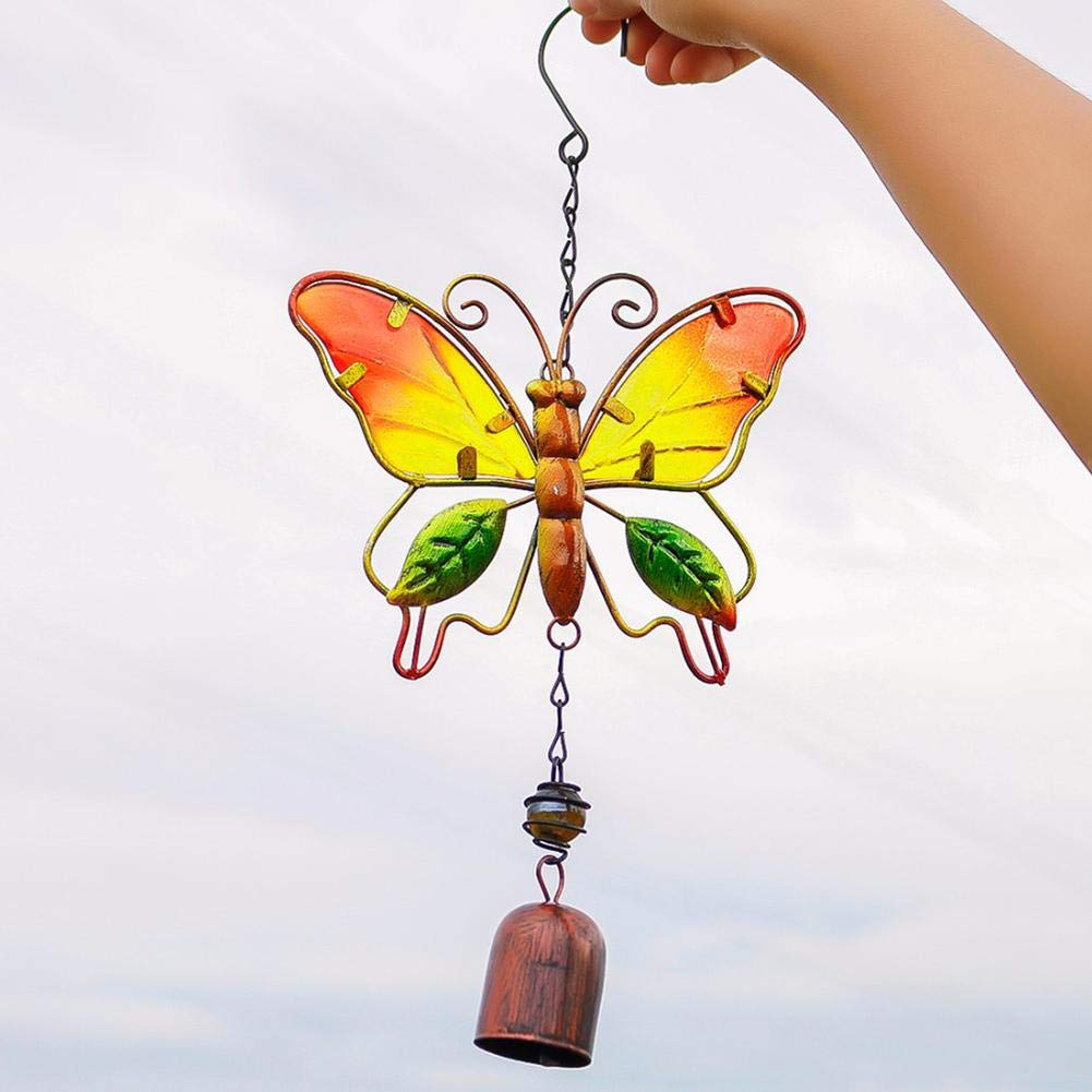 Wind Chimes Hummingbird Hanging Ornaments Handmade Home Party Decorations for Birthday Christmas Gifts