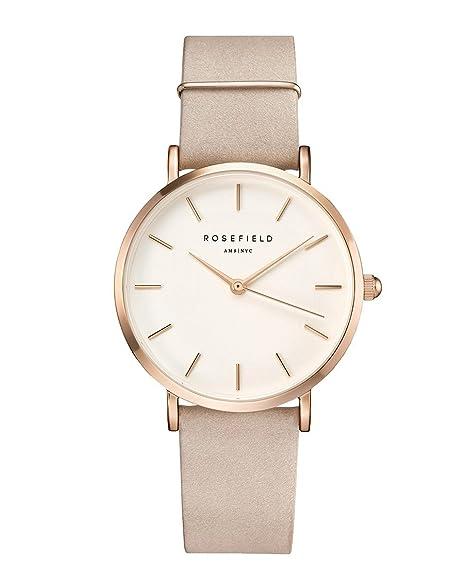 Rosefield The West Village Cuarzo - Reloj (Reloj de Pulsera, Femenino, Oro,