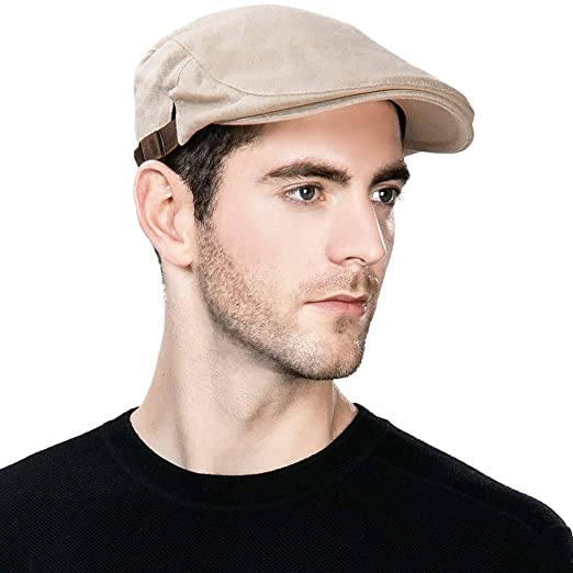 cba108b98ce05 Jeff   Aimy Summer Men s 100% Cotton Flat Cap Ivy Gatsby Newsboy Driving  Hunting Hat