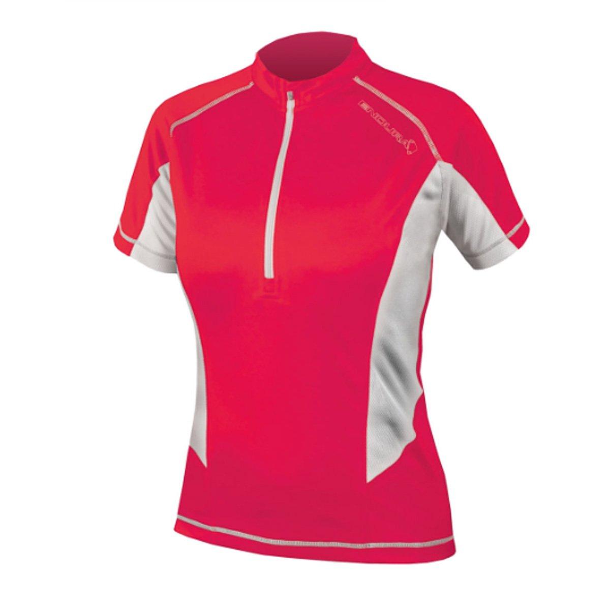 Endura Womens Pulse Short Sleeve Cycling Jersey B00J0QPIU2 Small|コーラル コーラル Small
