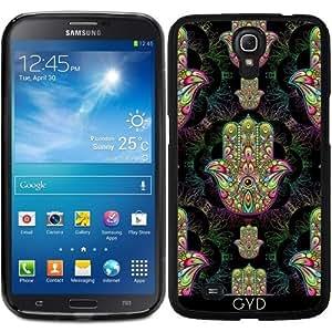 Funda para Samsung Galaxy Mega 6.3 GT-I9205 - Hamsa Amuleto Mano Psicodélica by BluedarkArt