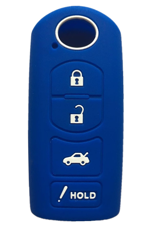 Rpkey Silicone Keyless Entry Remote Control Key Fob Cover Case protector For Mazda 3 6 CX-7 CX-9 MX-5 Miata KR55WK49383 WAZSKE13D01 GJR9-67-5RY 662F-SKE13D01 ASD