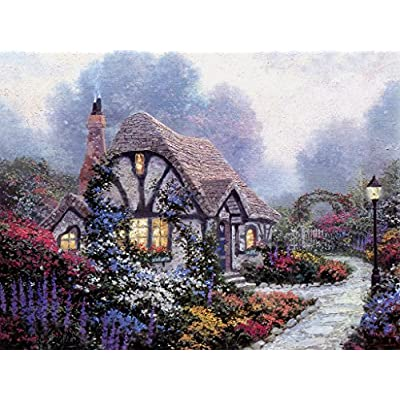 500 Pieces Jigsaw Puzzles,505 The Cabin in The Woods, Intellective Decompression, Children Adult Game Entertainment: Toys & Games