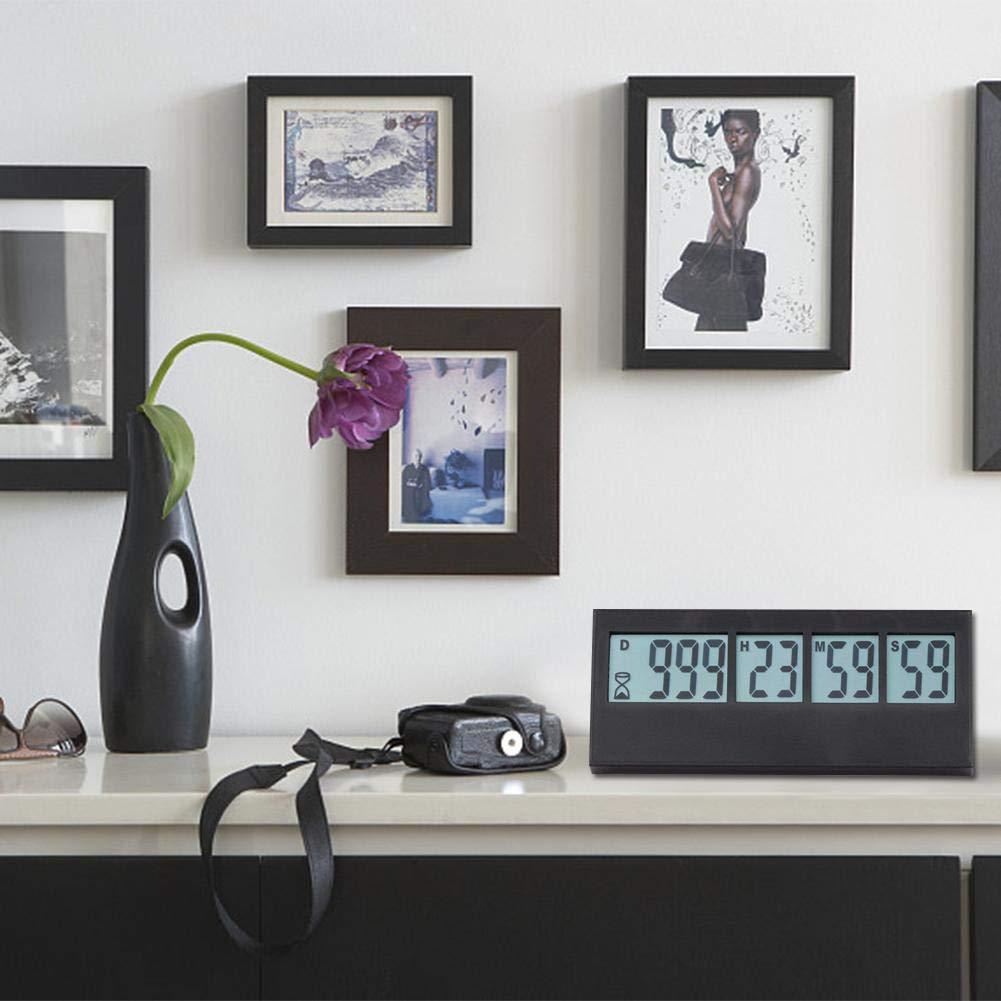 Countdown per Anniversario di Matrimonio Successivo Fancylande Orologio Digitale LED da Parete Timer con Funzione Sveglia