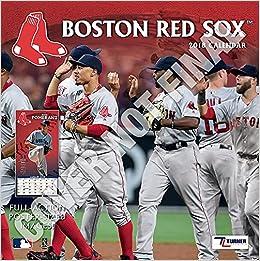 Boston Red Sox 2019 Calendar Lang Holdings Inc 9781469360379
