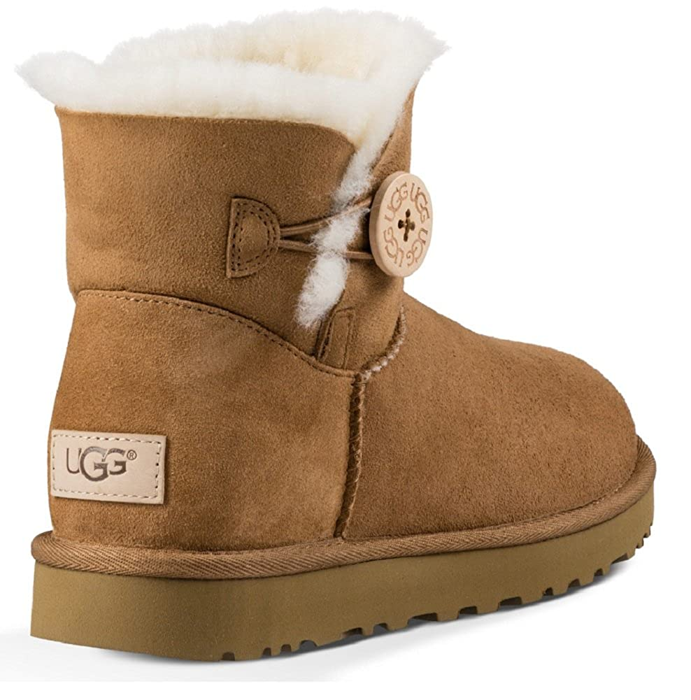 aff7e08fa12 Amazon.com | UGG Australia Women's Mini Bailey Button ll Boots ...