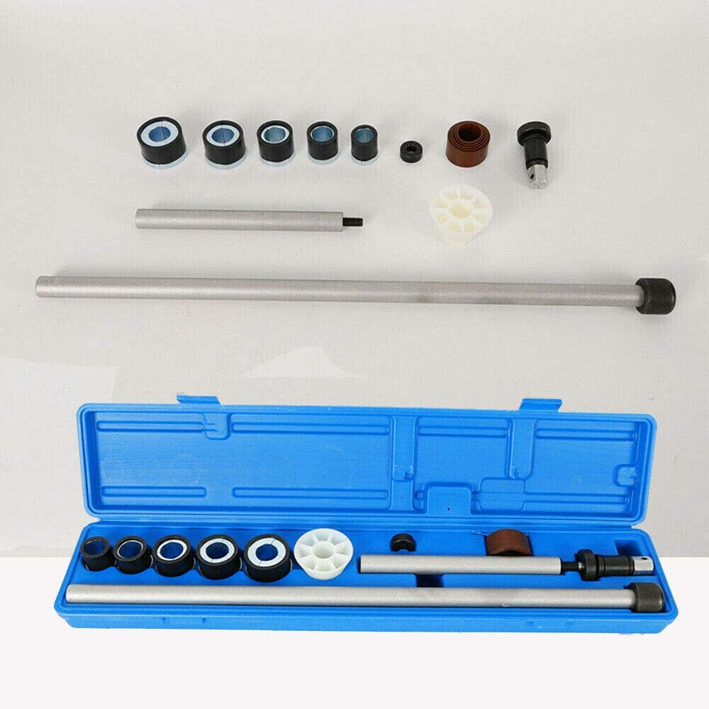 Gdrasuya 1.1 25-2.69 Car Universal Camshaft Bearing Installation Insert Tool and Removal Installation Kit Driver Bar with Case 28.58-68.3mm New USA Stock
