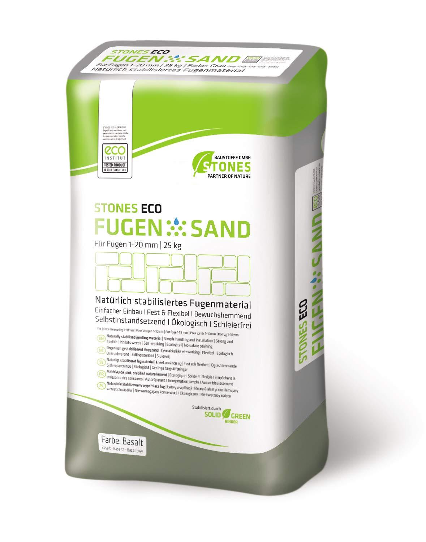 2,00€//1kg Beige STONES ECO FUGENSAND 1-20 mm 25kg