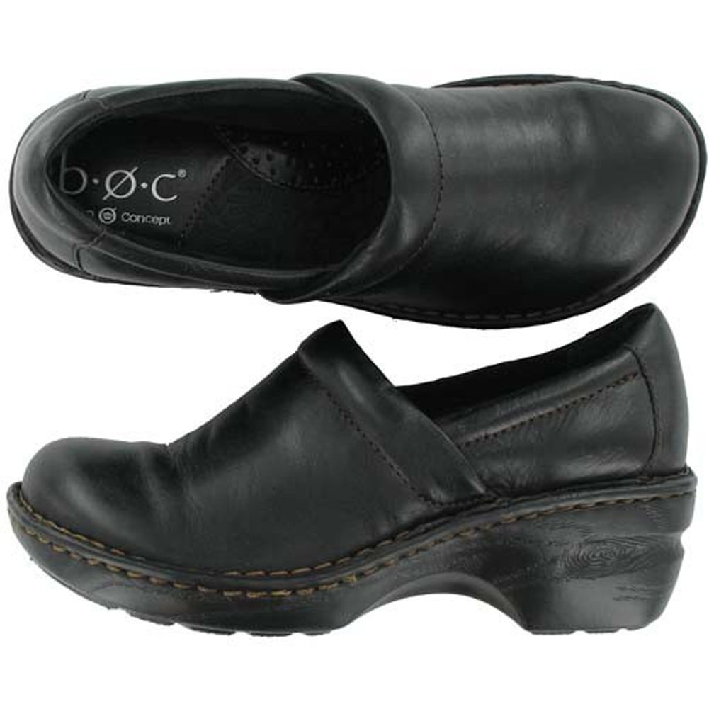 B.O.C. Women's Peggy Clog Black 8 C/D US