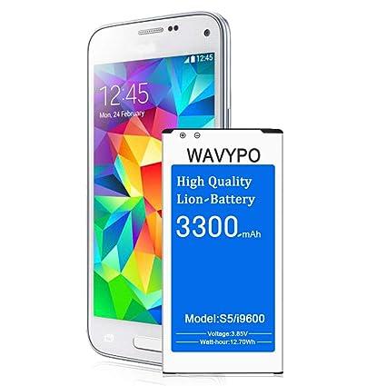 Amazon.com: Wavypo - Batería para S5 Active: Wavypo