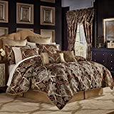 Croscill Bradney King Comforter Set Red 4 Piece