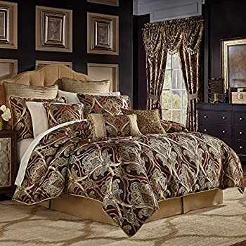set comforters comforter nadalia reversible croscill buy from gold bed queen in beyond bath