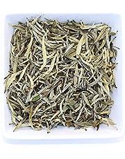 Tealyra - Premium White Silver Needle Tea - Bai Hao Yinzhen - Organically Grown in Fujian China - Superior Chinese Silver Tip White Tea - Loose Leaf Tea - Caffeine Level Low - 100g (3.5-Ounce)