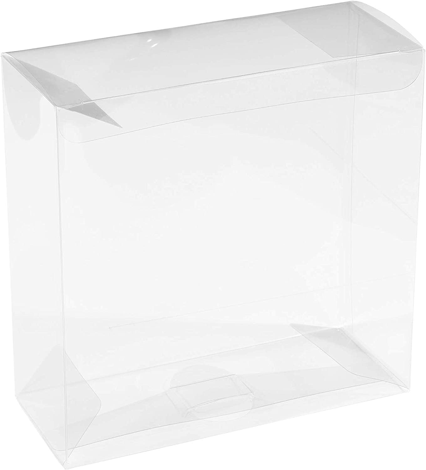 Clear PET Plastic Storage Boxes – Transparent Gift Boxes, Empty Containers Packing Box for Party Favors Ideal for Cookies, Ornament, Gifts, Wedding, Birthday and Parties 6