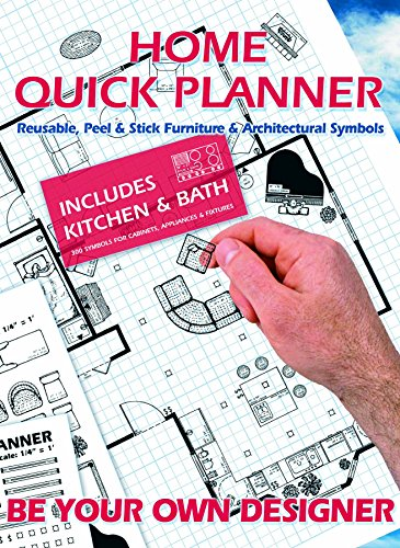(Home Quick Planner: Reusable, Peel & Stick Furniture & Architectural Symbols)