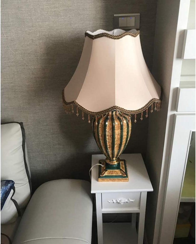 ZQH Bianca Paralumi, Tamburo Paralume Conico Grande Tessuto Lamp Shade Lampada da Tavolo Moderno Biancheria Ombra Leggera Letto Coprilampada Titolare