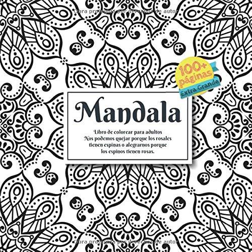 Libro : Libro de colorear para adultos Mandala - Nos podemos