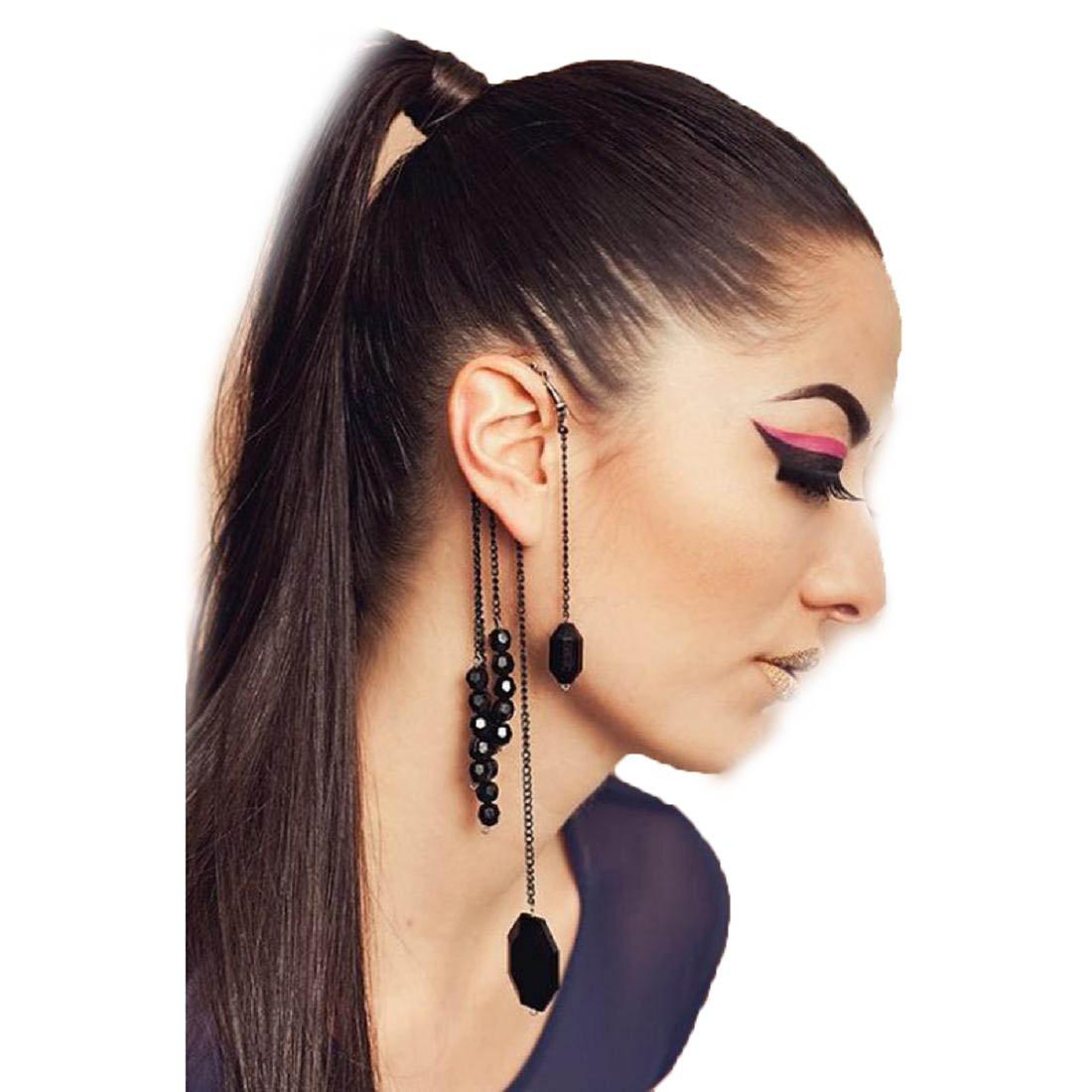 Coromose Women Ear Cuff Stud Earring Tassel