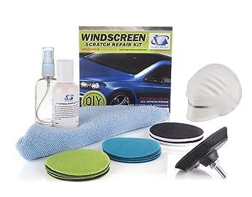 Glass Polish Kit de reparación de arañazos DIY Reparación de parabrisas, parabrisas limpiaparabrisas sistema de