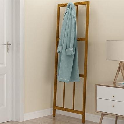 Amazon.com: GWDJ Coat And Hat Rack Solid Wood Wall Corner ...