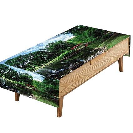 Amazon.com: PINAFORE Indoor/Outdoor Polyester Tablecloth Jardin ...