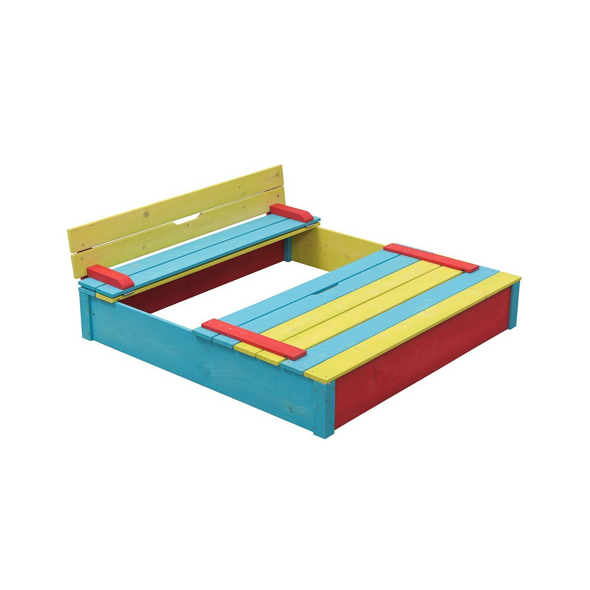 Swing King bunter Sandkasten aus Holz 7850035