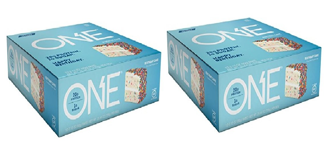 Nutrition One Bar Birthday Cake 24 Count