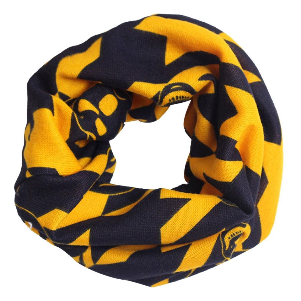 Koly Baby Girl Boy Multicolor Children Neckerchief Warm Winter Cotton Scarf Shawl (Navy) Koly-SF52