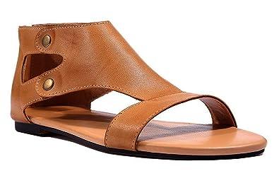 0d4e2a5abb0 Minetom Compensées Femme Sandales Talon Compensé Chaussures Tongs Sandales  Talons Hauts Bout Ouvert Plate-Forme