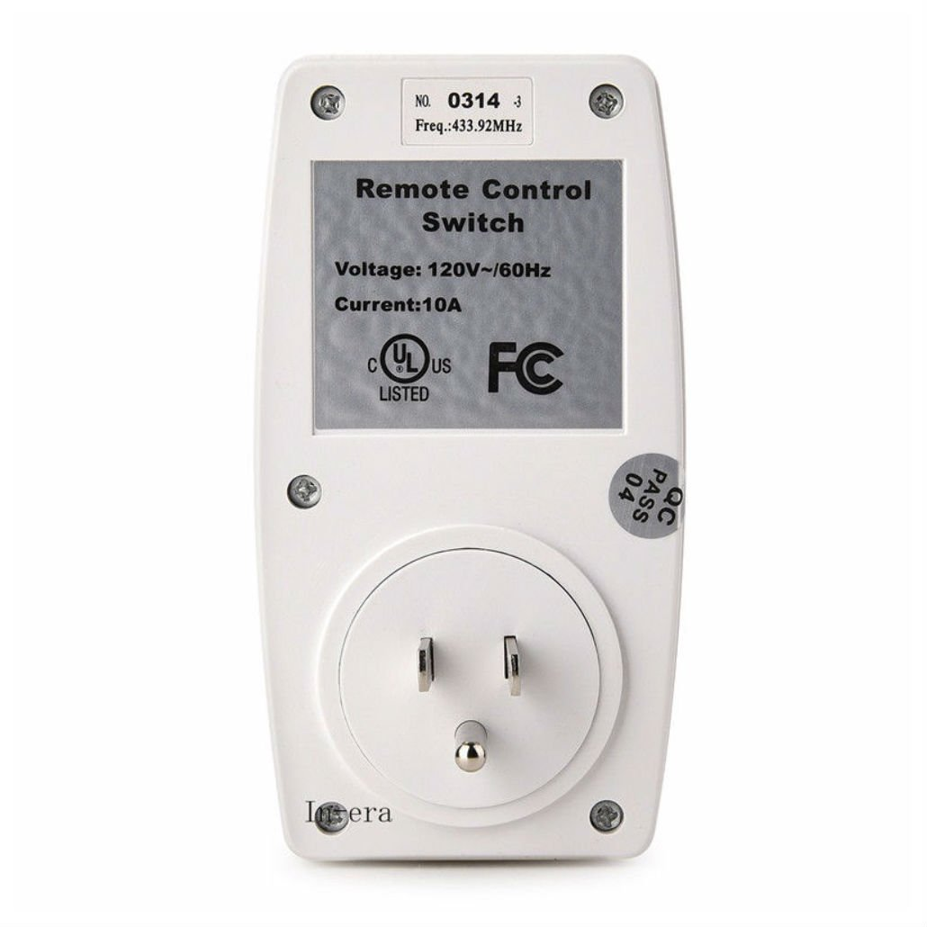 Wireless Appliance Remote Control Lamp Light Switch Wall House Wiring Switched Outlet Switches