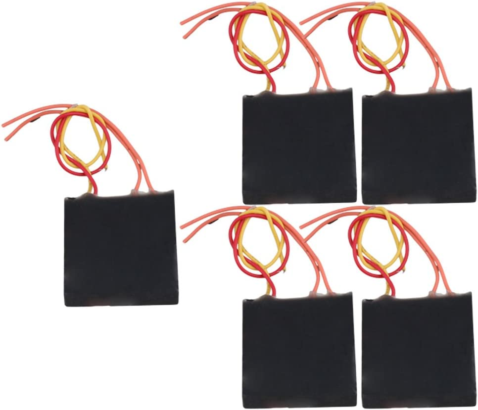 5 PCS 400KV Super Slim Boost Step-up Power Module High-voltage Generator Black