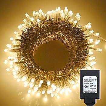 Amazon.com: Deneve led copper string lights (100ft. standard ...