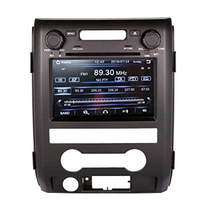 Inch Touchscreen Monitor Car Gps Navigation System For Ford F Car Stereo