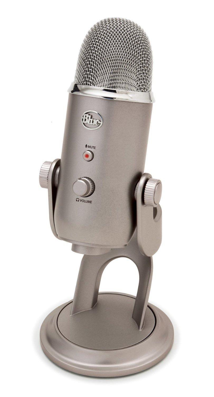 Blue Yeti USB Microphone, Platinum (Renewed) by Blue Microphones (Image #1)