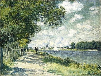 Posterlounge Acrylic print 40 x 30 cm: Seine at Argenteuil by Claude Monet/Bridgeman Images