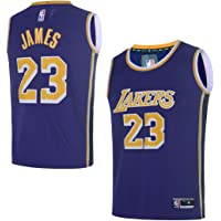 OuterStuff Youth Los Angeles Lakers  23 LeBron James Kids Basketball Jersey 426206f0f