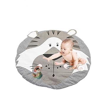 Infant Baby Crawling Mats Cartoon Activity Round Carpet Sleeping Rugs Play Mats