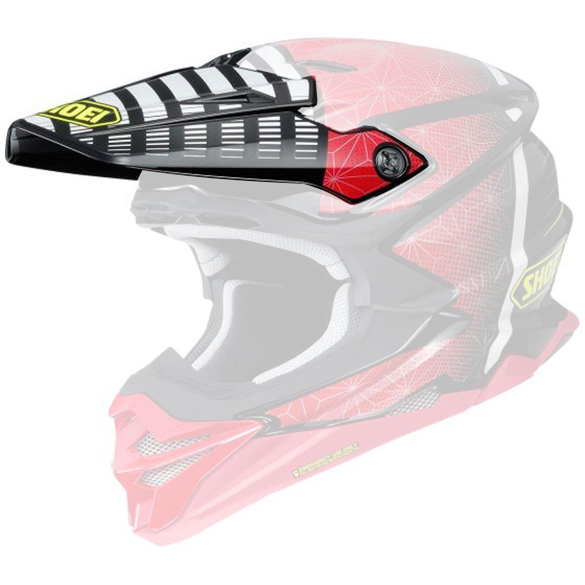 Shoei VFX-Evo Visor Blazon Off-Road Motorcycle Helmet Accessories - TC-1 / One Size